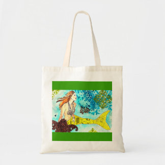Tranquil Waters Mermaid Tote