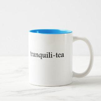 Tranquili-tea Tea Cup Two-Tone Mug