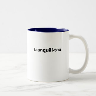 tranquili-tea Two-Tone coffee mug