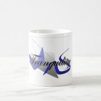tranquility basic white mug