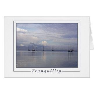 Tranquility - Boqueron Bay, Puerto Rico Card