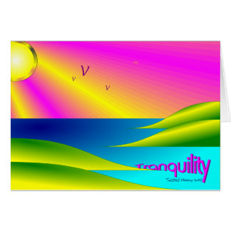 Tranquility Card