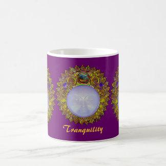 TRANQUILITY Ceramic Mug Purple