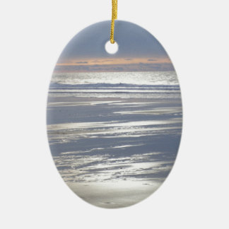 TRANQUILITY CERAMIC OVAL DECORATION