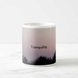 Tranquility Coffee Cup Basic White Mug