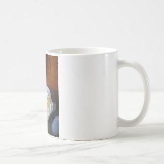 Tranquility Flower Basic White Mug