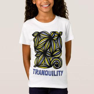 """Tranquility"" Girls' Fine Jersey T-Shirt"