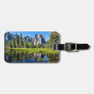 Tranquility In Yosemite Bag Tag