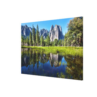 Tranquility In Yosemite Canvas Print