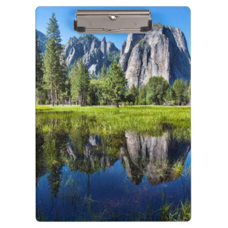 Tranquility In Yosemite Clipboards