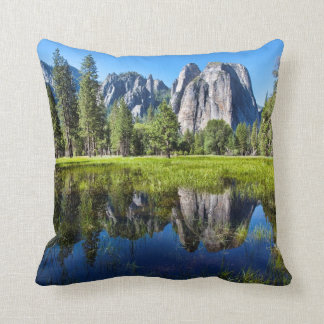 Tranquility In Yosemite Cushion