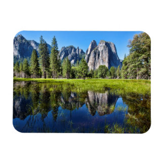 Tranquility In Yosemite Magnet