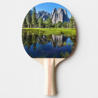 Tranquility In Yosemite Ping Pong Paddle
