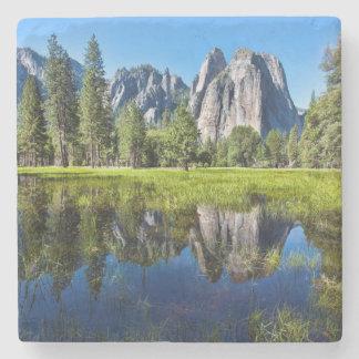 Tranquility In Yosemite Stone Coaster