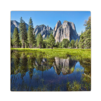 Tranquility In Yosemite Wood Coaster