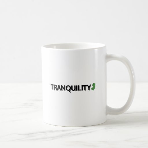 Tranquility, New Jersey Coffee Mug