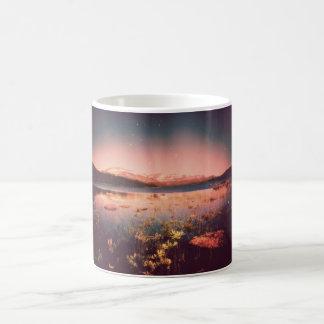 Tranquility. Northern Landscape Basic White Mug