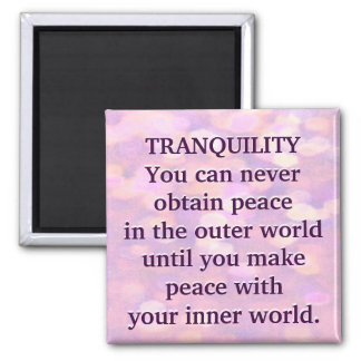 Tranquility Square Magnet