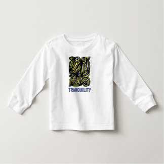 """Tranquility"" Toddler Long Sleeve T-Shirt"