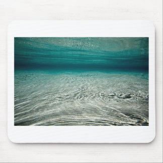 Tranquility turquoise tropical beach underwater mouse mat