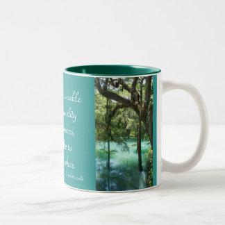 Tranquility Two-Tone Mug