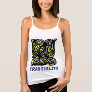"""Tranquility"" Women's Spaghetti Strap Tank Top"
