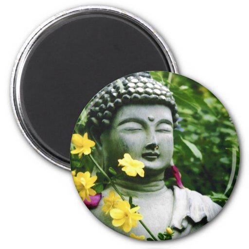 Tranquillity 6 Cm Round Magnet