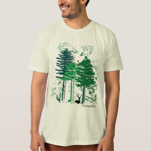 Tranquillity-Trees T Shirts