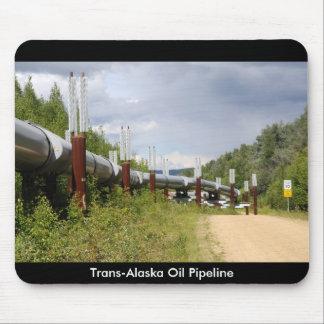 Trans-Alaska Oil Pipeline Mouse Mat