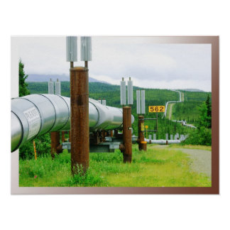 Trans-Alaska Oil Pipeline Posters