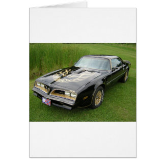 trans am greeting card