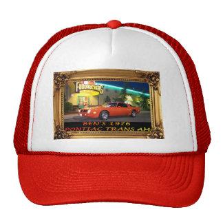 Trans Am Hat Framed Photo