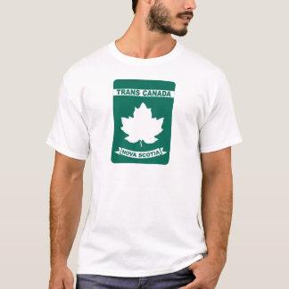 Trans Canada Highway T-Shirt - Nova Scotia