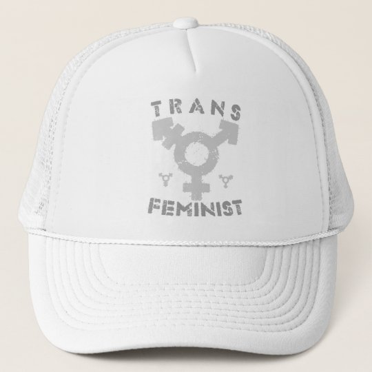 TRANS FEMINIST - For Liberation Of All Women, Grey Cap