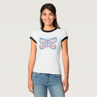 Trans Flag Butterfly T-Shirt