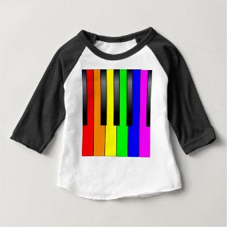 Trans Gay Piano Keys Baby T-Shirt