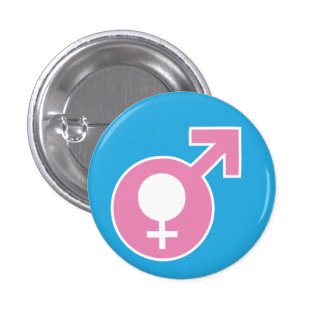 Trans Girl Button