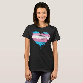 TRANS HEART - TRANS LOVE - T-Shirt