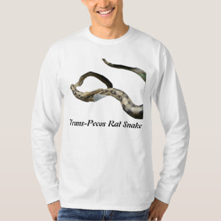 Trans-Pecos Rat Snake Basic Long Sleeve T-Shirt
