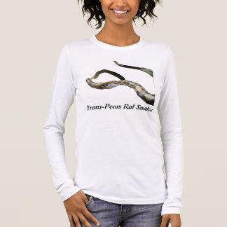 Trans-Pecos Rat Snake Ladies Long Sleeve Long Sleeve T-Shirt