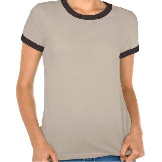 Trans-Pecos Rat Snake Ladies Melange Ringer T Tshirts