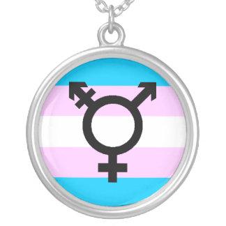 Trans Pride necklace - with symbol