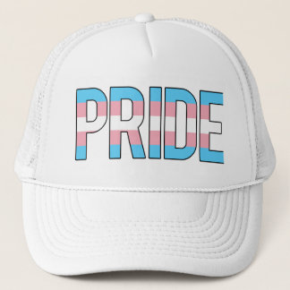 Trans-pride Trucker Trucker Hat
