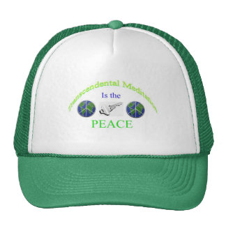 Transcendental Meditation it the key PEACE Cap