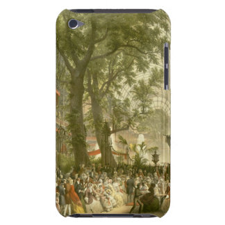 Transept of the Crystal Palace, 1851 (coloured lit Barely There iPod Case