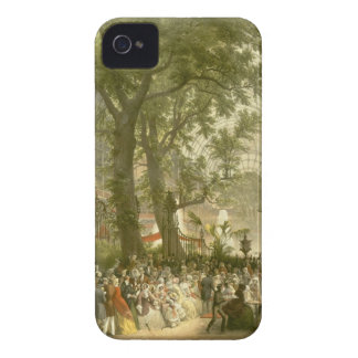 Transept of the Crystal Palace, 1851 (coloured lit iPhone 4 Case-Mate Cases