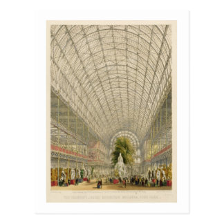 Transept of the Crystal Palace, pub. by Day and So Postcard