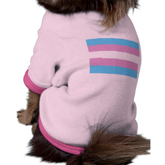 Transexual Pride Flag Dog Clothes