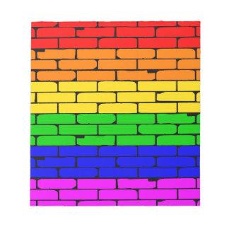 Transexual Rainbow Wall Notepad