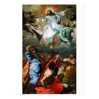 Transfiguration_by_Lodovico_Carracci. Postcard